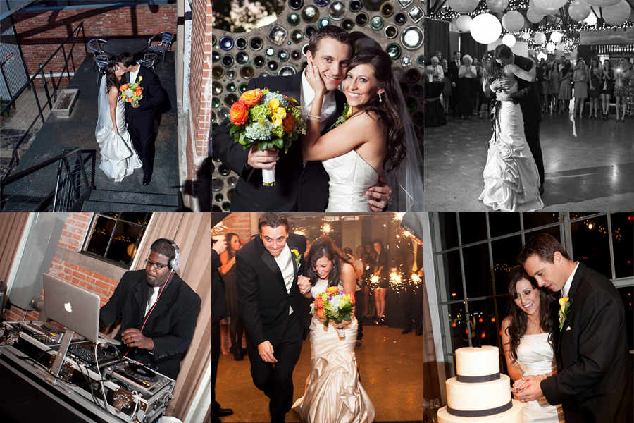 part of Shannon Lonnie 39s Dallas wedding at the Hickory Street Annex